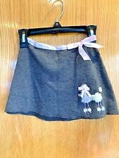 Girls' Toddler Grey Poodle Skirt Amy Byer Size 2T NEW