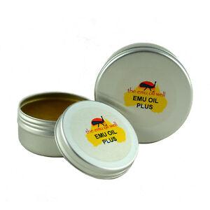 Emù Olio Plus Muscolo e Articolazioni Strofinare Con Canfora e Mentolo 100 ml