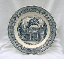 Royal China Colonial Heritage Blue Round Chop Plate Platter Monticello Jefferson