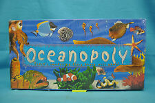 Oceanopoly Monopoly Board Game Children Family Game Fish Pieces New Sealed