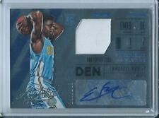 2015-16 Absolute Frequent Flyer Jersey Autograph Emmanuel Mudiay RC Auto /149