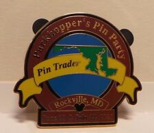 Disney Pins / Badges: Parkhopper's Pin Party - Rockville MD 2001