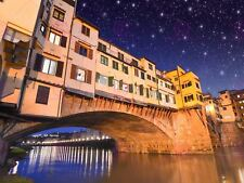PHOTOGRAPH LANDMARK PONTE VECCHIO BRIDGE FLORENCE ITALY PRINT POSTER MP3484A