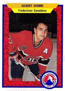 1991-92 ProCards AHL IHL #73 Gilbert Dionne
