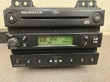 Ford Fiesta Fusion 4500 Rds Black Car Stereo Radio Cd Player With Code Head Unit