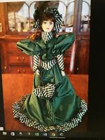 Colleen Of County Cork Franklin Heirloom Mint Doll New In Box