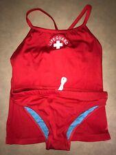 Lifeguard Tankini Top & Bottom Set, Size: Large