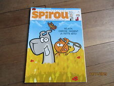 JOURNAL BD  SPIROU 3818 juin 2011 + supplement abonne gazette insolite