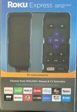 NEW - Roku Express 3900R Digital Media Streamer - Black (3900R)