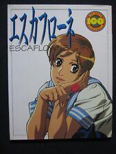 Escaflowne Newtype 100% Collection #40 [Jp Oversized] Nobutero Yuki Hiroshi Ou.