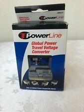 PowerLine Global Power Travel Voltage Converter #0900-27