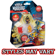 Mind Candy World of Warriors 4 pack blister (Styles may vary)