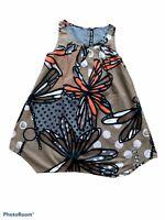 STUNNING Girls CHIPIE DRESS - Brown Flowered Pattern like New Size 10