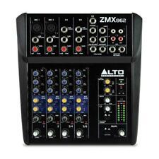 More details for alto professional zephyr zmx862 6-channel compact studio mixer desk home band