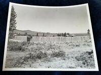 "Vintage Oregon State Hwy Commission Photo #5810 Stockade ""Indian Fighter"" Movie"