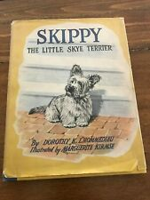 Skippy The Little Skye Terrier (First Edition, Lithographed, w/dust cover) 1944