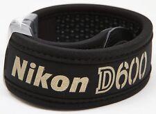 Premium Nikon D600 camera wide straps - Brand New
