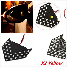 2XSuper Yellow 33-SMD Sequential LED Arrow for Car Side Mirror Turn Signal Light