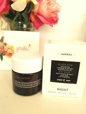 Korres Black Pine 3D Anti aging Firming & Lifting Sleeping Facial 2 fl oz Nib