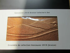 2010 Vancouver Bronze Collector's Mint Set Original Packing (M250)