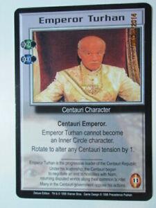 1998 BABYLON 5 CCG - DELUXE EDITION - RARE CARDS - E to M - PICK ONE