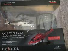 PROPEL COAST GUARD MICRO WIRELESS INDOOR HELICOPTER AGE 8+