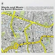 Saint Etienne - Words And Music by Saint Etienne 2 CD ALBUM NEW (10TH JULY)