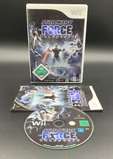 "NINTENDO WII SPIEL"" STAR WARS THE FORCE UNLEASHED "" KOMPLETT"