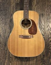1980 Vintage Martin Acoustic Dreadnaught Guitar Model D-25K