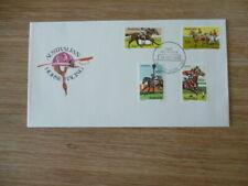 Australia fdc 1978 Australian Horse Racing full set of stamps