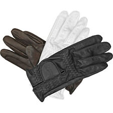 Mark Todd Leather Riding/show Gloves Child 10-12 Yrs Black 892014