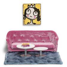 Melody Jane Puppenhaus Art Déco Einfarbig Weiß Badezimmer Möbel Set Garnitur 1 Bad