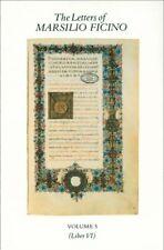 Letters of Marsilio Ficino, Hardcover by Ficino, Marsilio; Language Departmen...