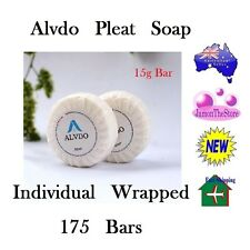 Alvdo Pleat Soap Guest Soap Individual Wrap Hotel Motel 15g x 175 bars Amenities