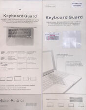 "2 Gel Keyboard SKin Cover Guard Film Protector For 13"" And15""MacBook A1706/A1707"