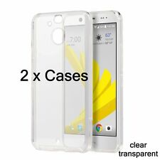 2 x Pieces - Transparent Clear Hard TPU Rubber Soft Skin Case Cover for HTC BOLT