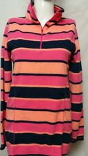 Old Navy youths Multicolor Fleece Pull over Sweater Sz MEDIUM(#d3