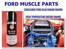 FORD FALCON XA XB XC XR XT XW XY GT  CONCOURSE FORD BLUE ENGINE ENAMEL