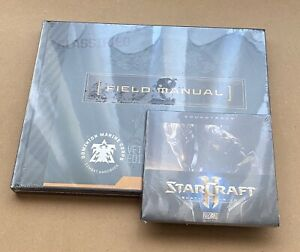 Starcraft 2 Legacy of the void collectors edition artbook and soundtrack SEALED