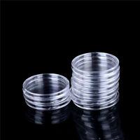 10X 46mm Applied Clear Round Cases Coin Storage Capsules Holder Plastic  H_ns