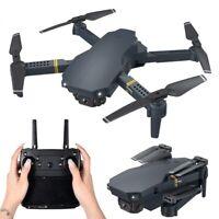RC Drone Faltbar WIFI FPV Drohne mit 4K HD Kamera Mini Quadrocopter Schwarz