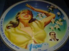 """HOUR OF CHARM study in blue ( pop ) 2 x 10"""" picture disc VOGUE R725 & R726"""