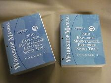 2010 Ford Explorer Mountaineer Workshop Service Manual Volume 1 & 2 Factory Book