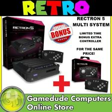 HYPERKIN Rectron5 Multi System Gaming Console ++ BONUS Extra Controller !! [F07]