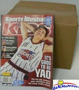 2003 Lebron James SI for Kids CASE-(75) Lebron James Uncut Sheet 1st Rookie Card