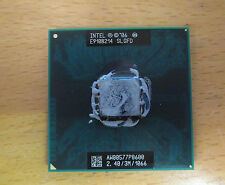 Intel Core 2 Duo P8600 2.40Ghz 3M 1066Mhz SLGFD Laptop Processor CPU (771)