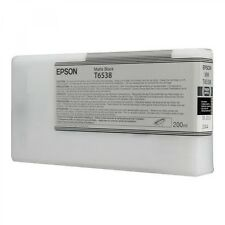 original Epson T6538 negro mate C13T653800 Lápiz Táctil Pro 4900 MHD 2013