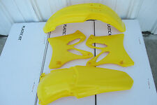 RACE TECH  YELLOW  PLASTIC KIT  YAMAHA YZ250 YZ125 2002-2014