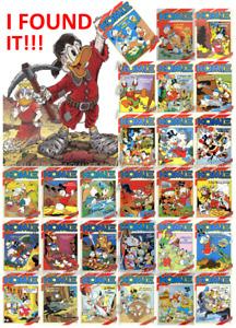 KOMIX from Greece Walt Disney Comics ΚΟΜΙΞ in Greek Terzopoulos *MULTI-LISTING*