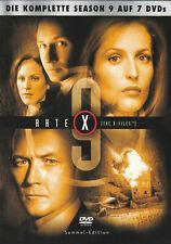 AKTE X - 9. Staffel - David Duchovny & Gillian Anderson - 7 x DVD SET